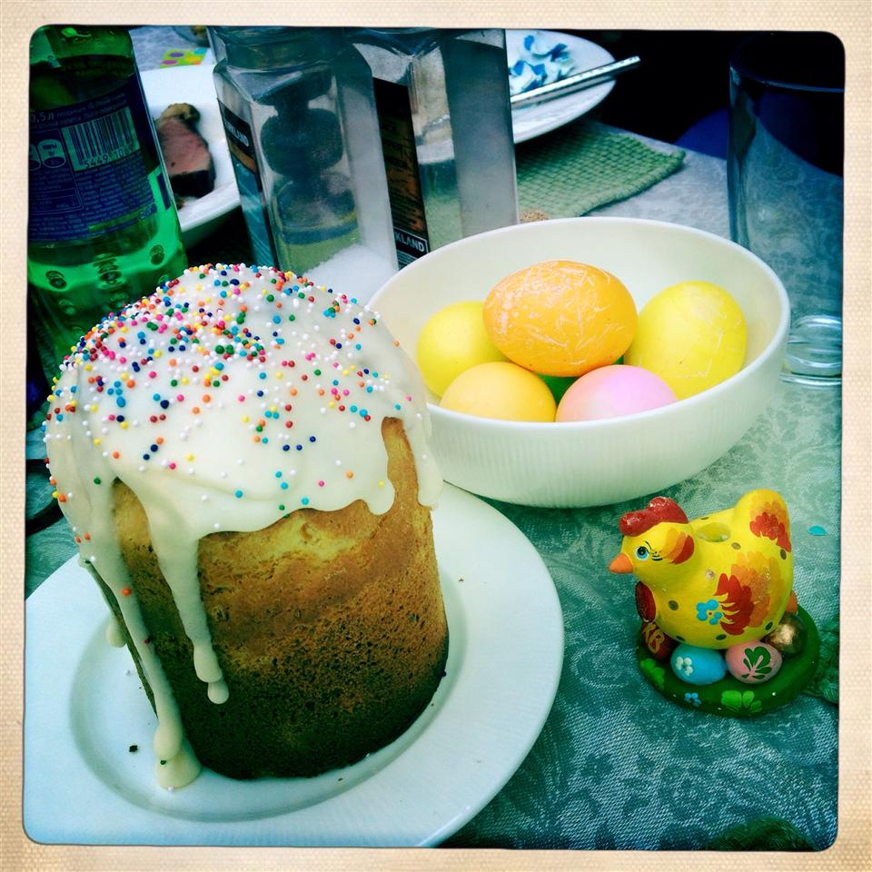 Kulich (Russian Easter Cake) babylee