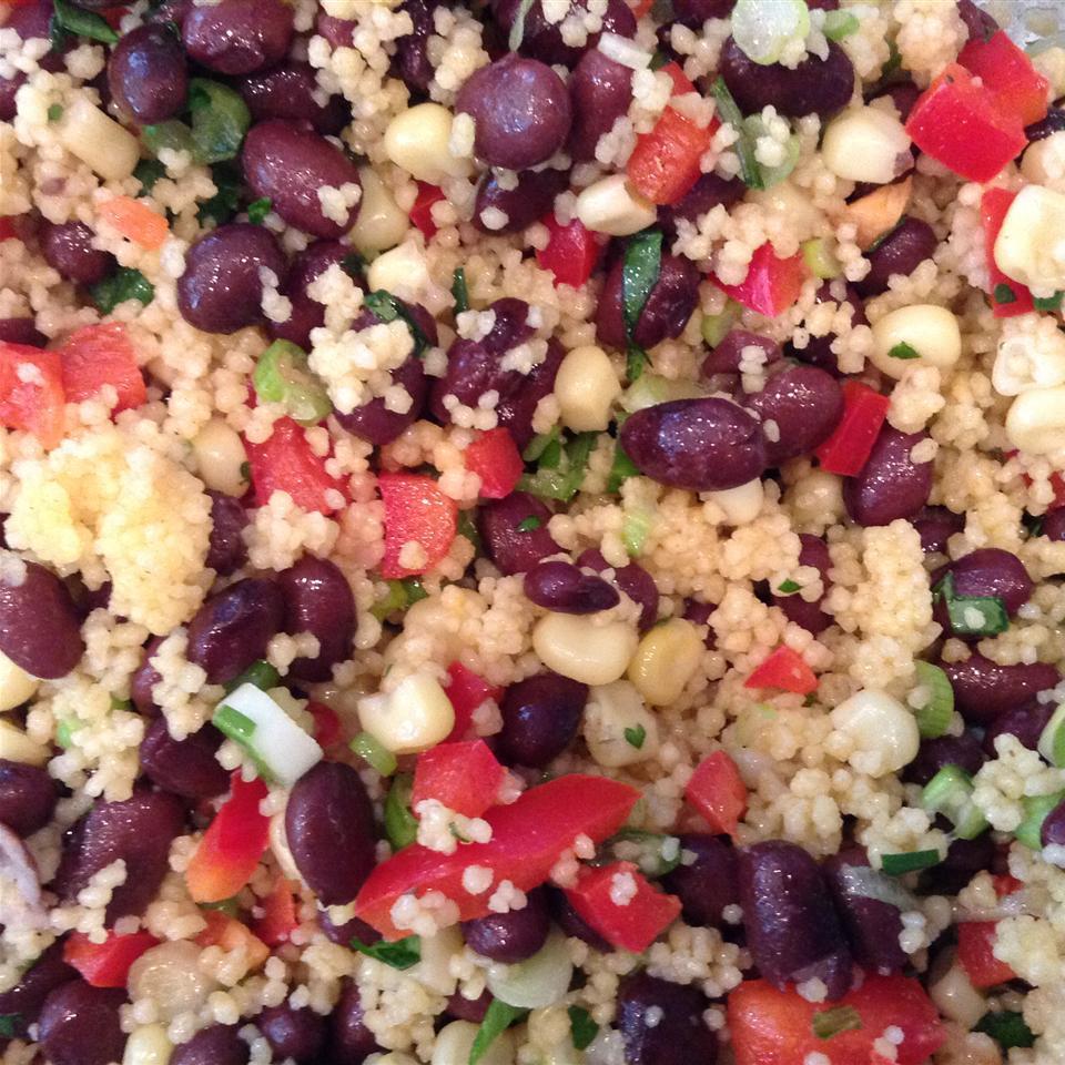 Black Bean and Couscous Salad