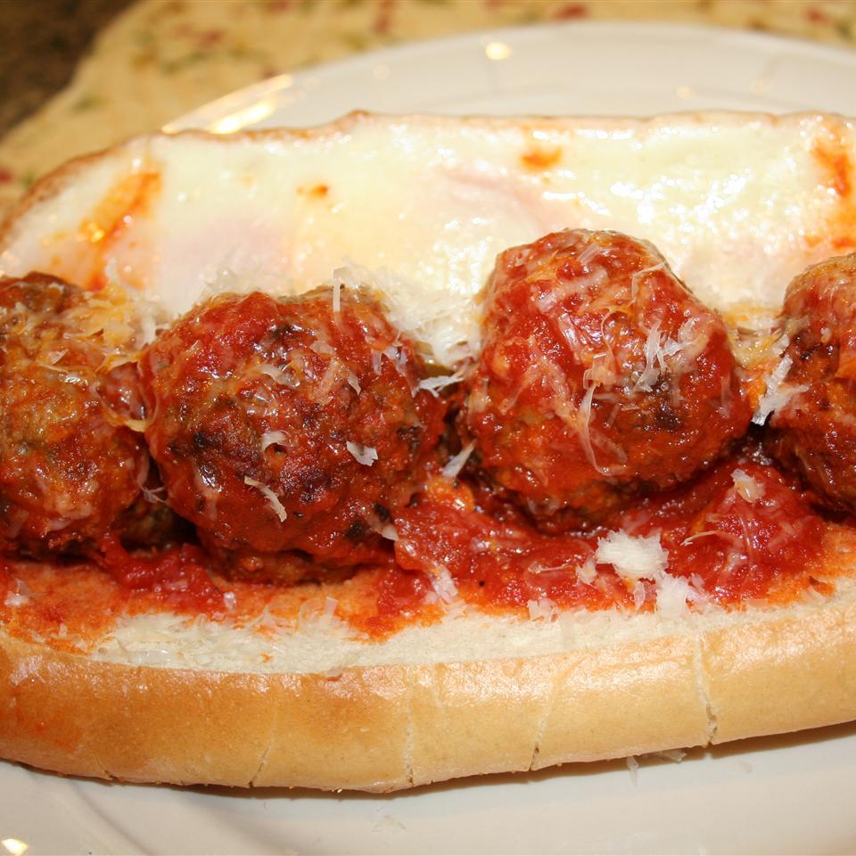 Meatballs Divine Ms. Chef Esh