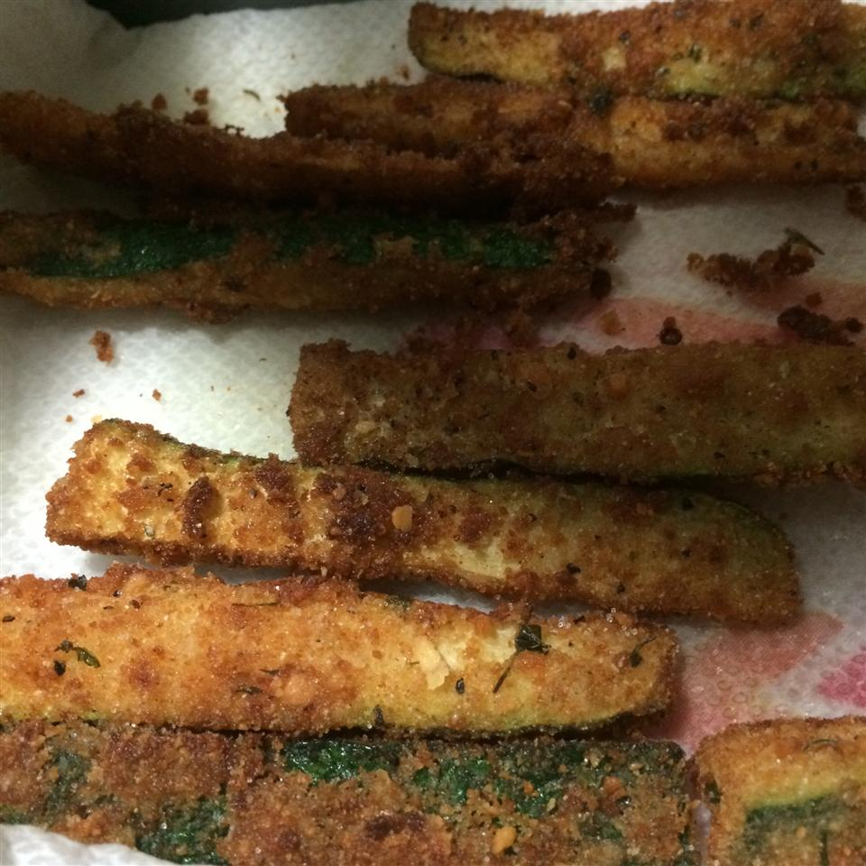 Parmesan Fried Zucchini Tahesha Glenda Atkins