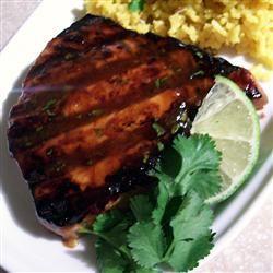 Grilled Tropical Tuna Steaks SunnyByrd