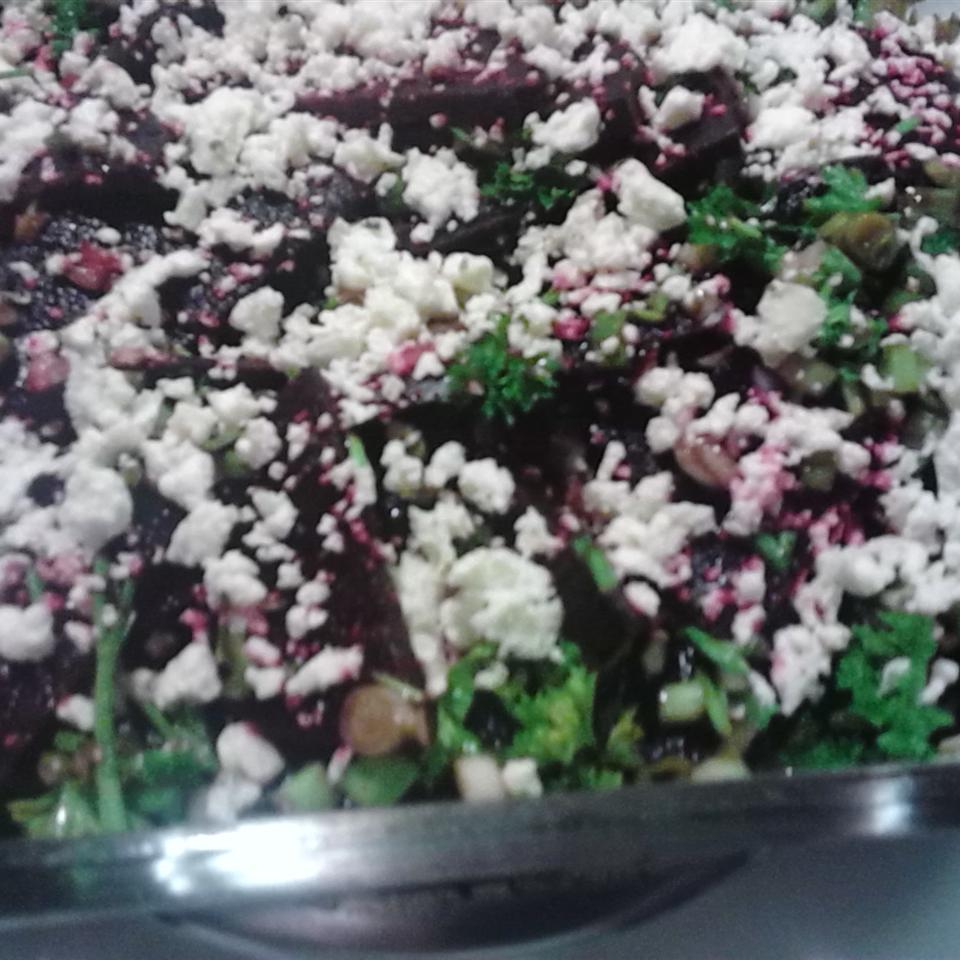 Roasted Beets with Feta Chef Mom