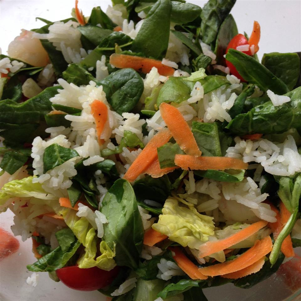 Romaine Rice Tuna Salad