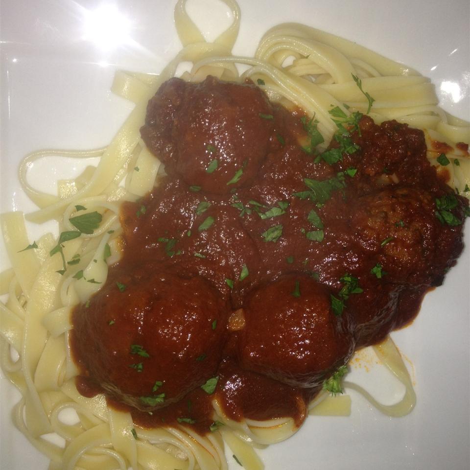Jenn's Out Of This World Spaghetti and Meatballs heattivnan