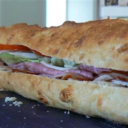 Joanne's Super Hero Sandwich