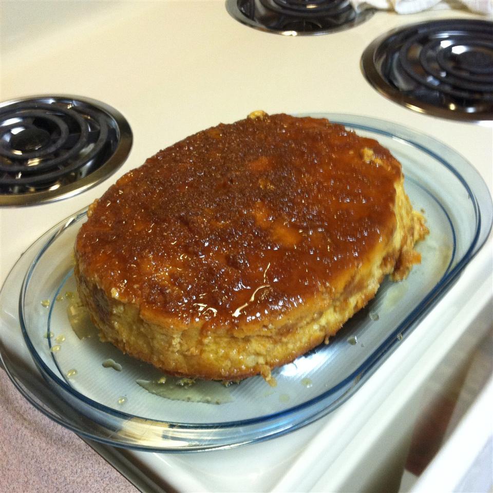 Bread Pudding With Caramel Sauce Nan