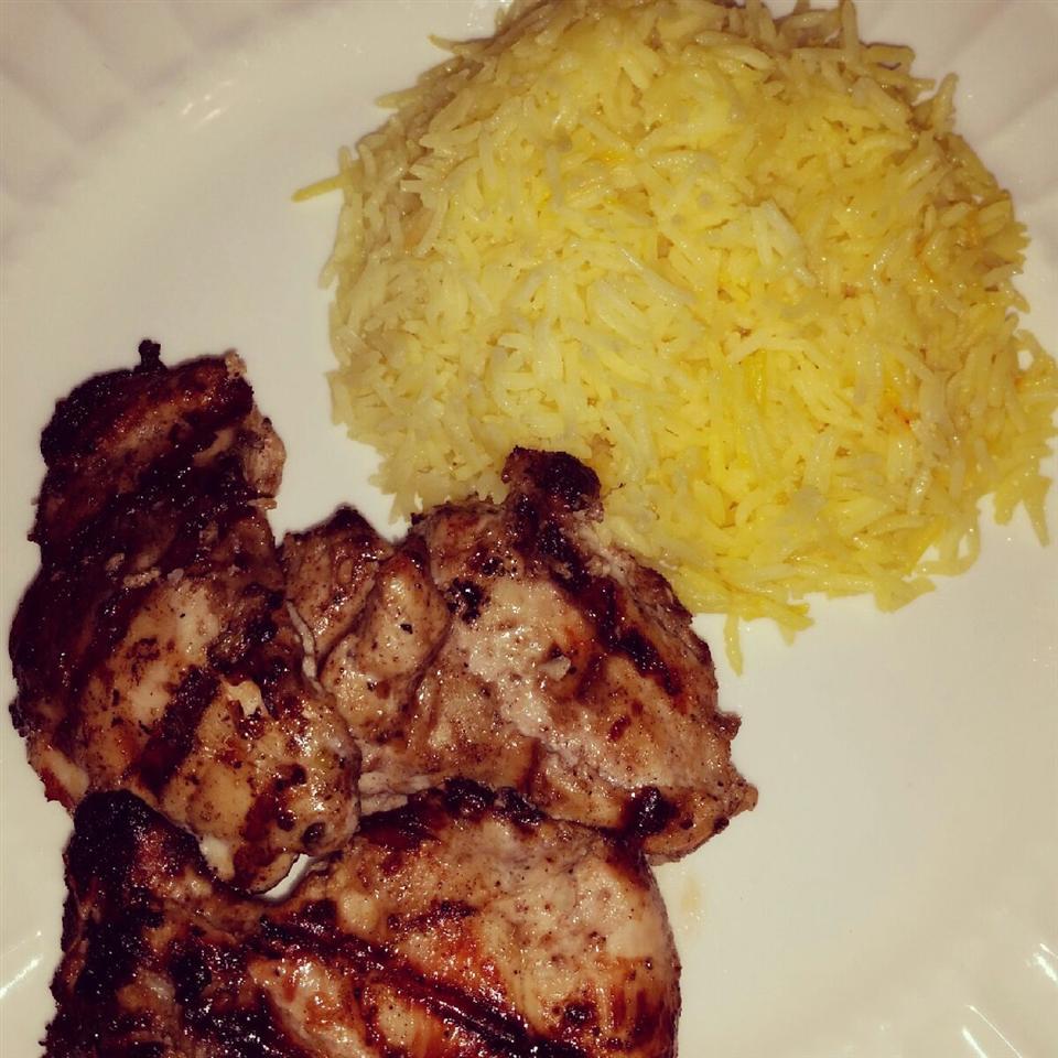 Indian Saffron Rice mflo