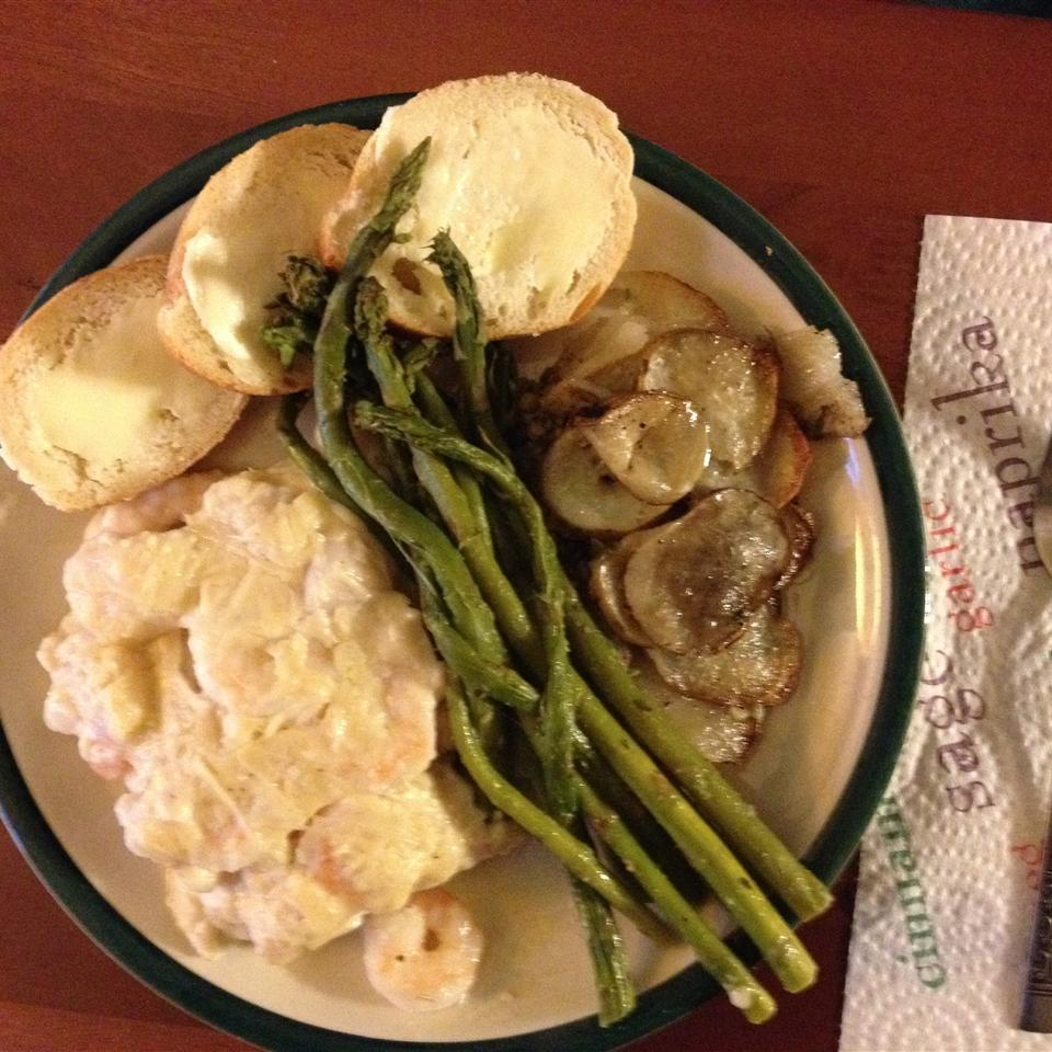 Baked Fish with Shrimp