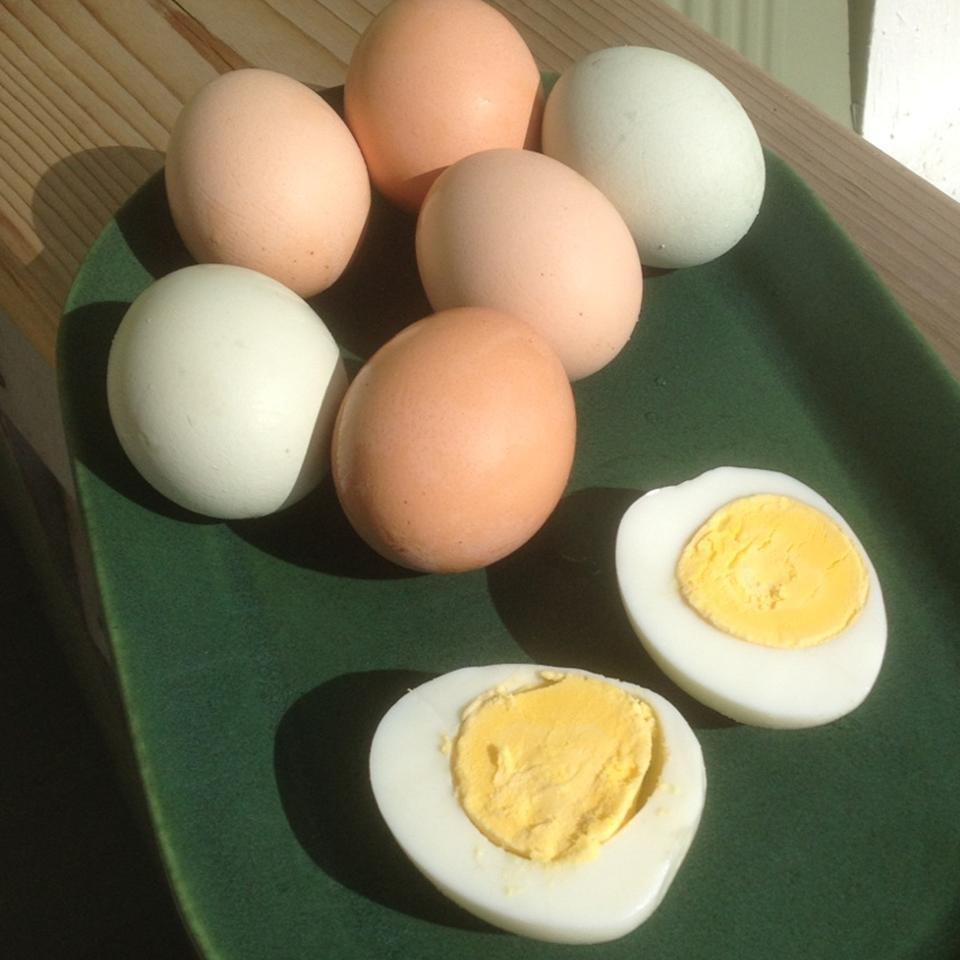 Pressure Cooker Hard-Boiled Eggs Gremolata