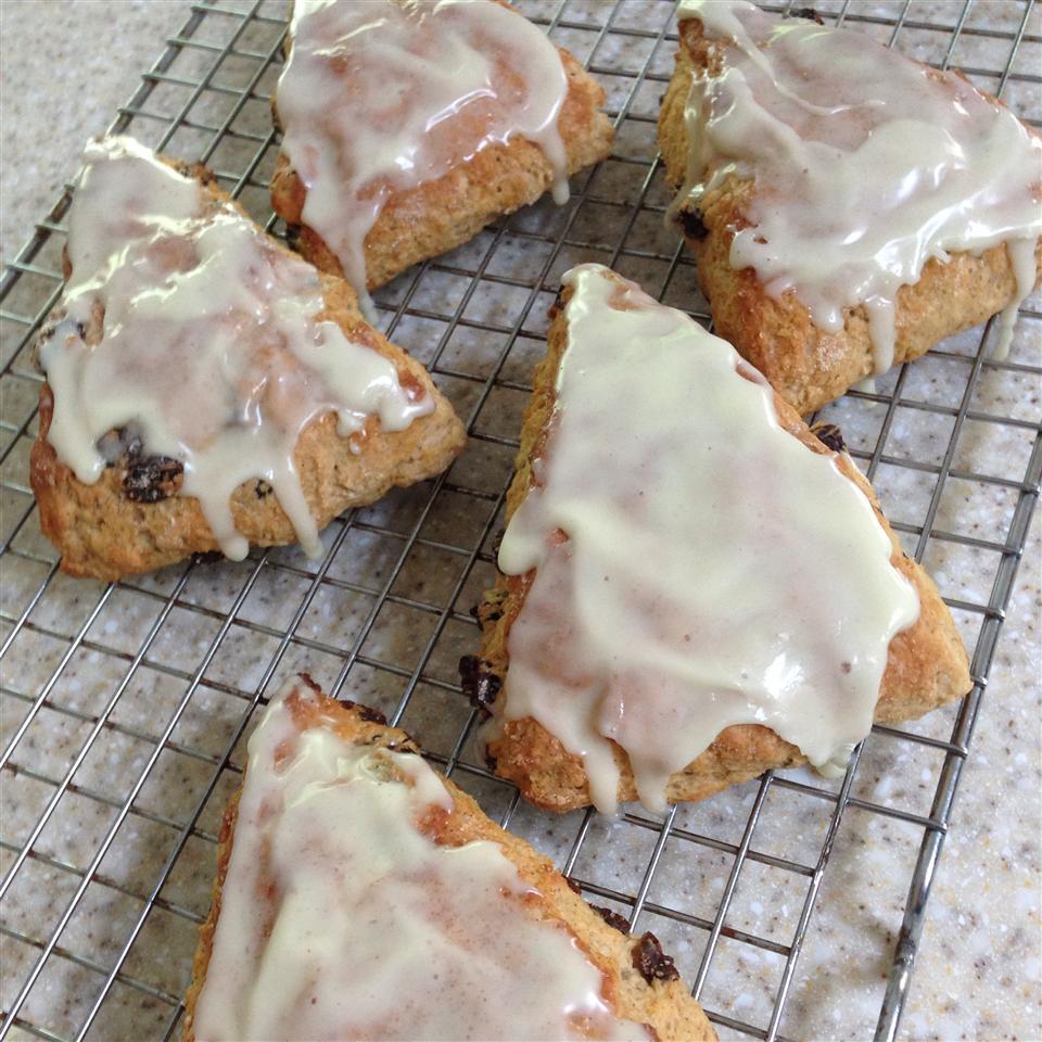 Cinnamon-Raisin Yogurt Biscuits Rebecca