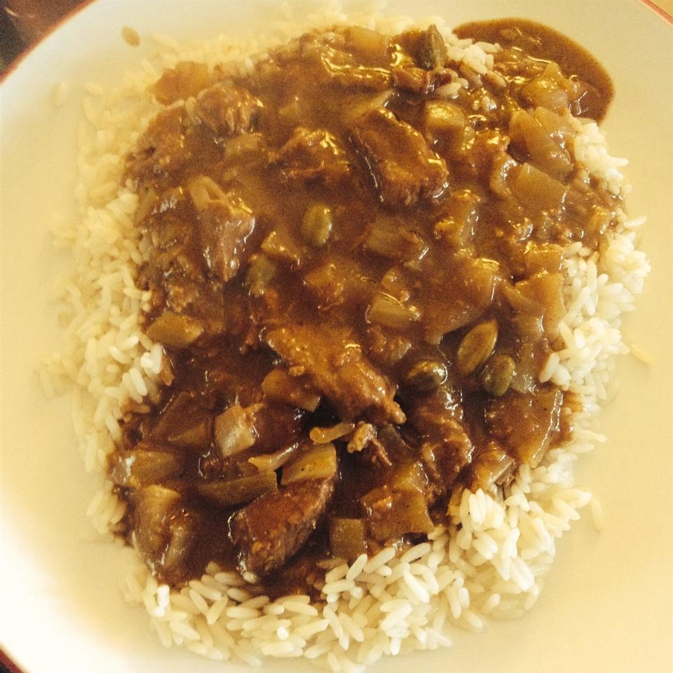 Ginger Beef Curry (Slow Cooker Version)