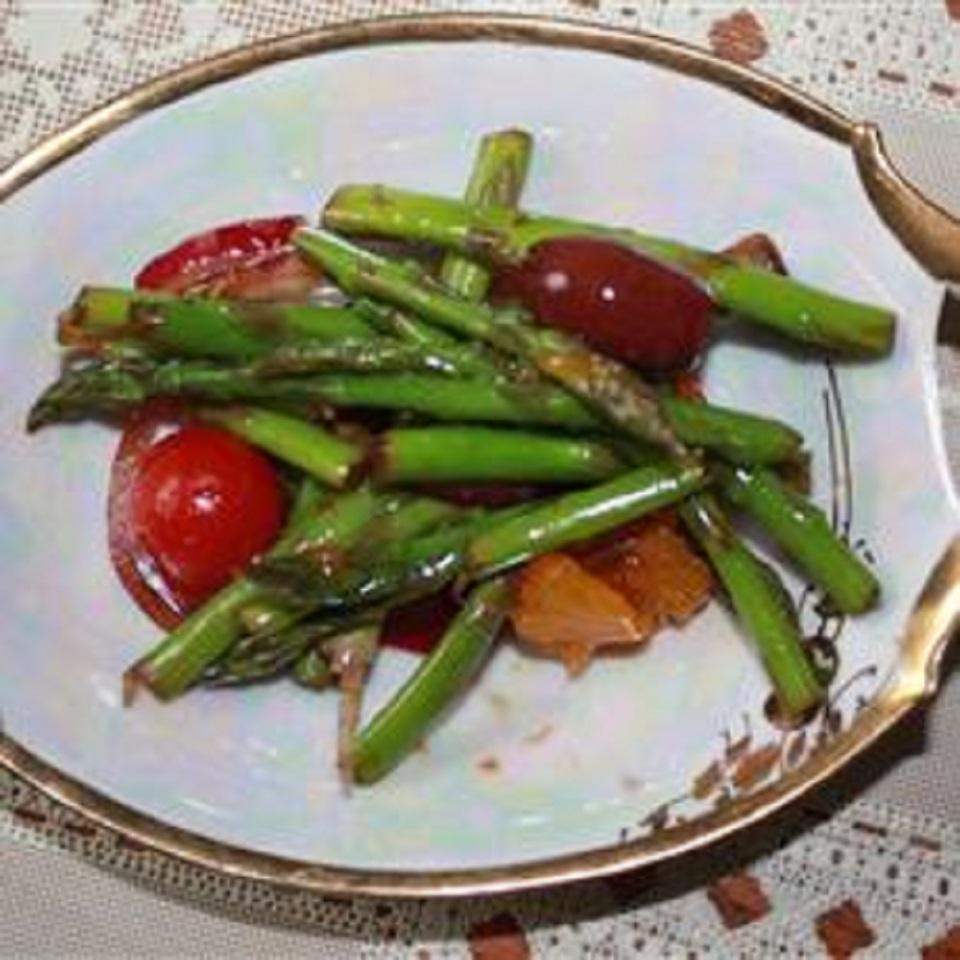 Asparagus and Mandarin Orange Salad