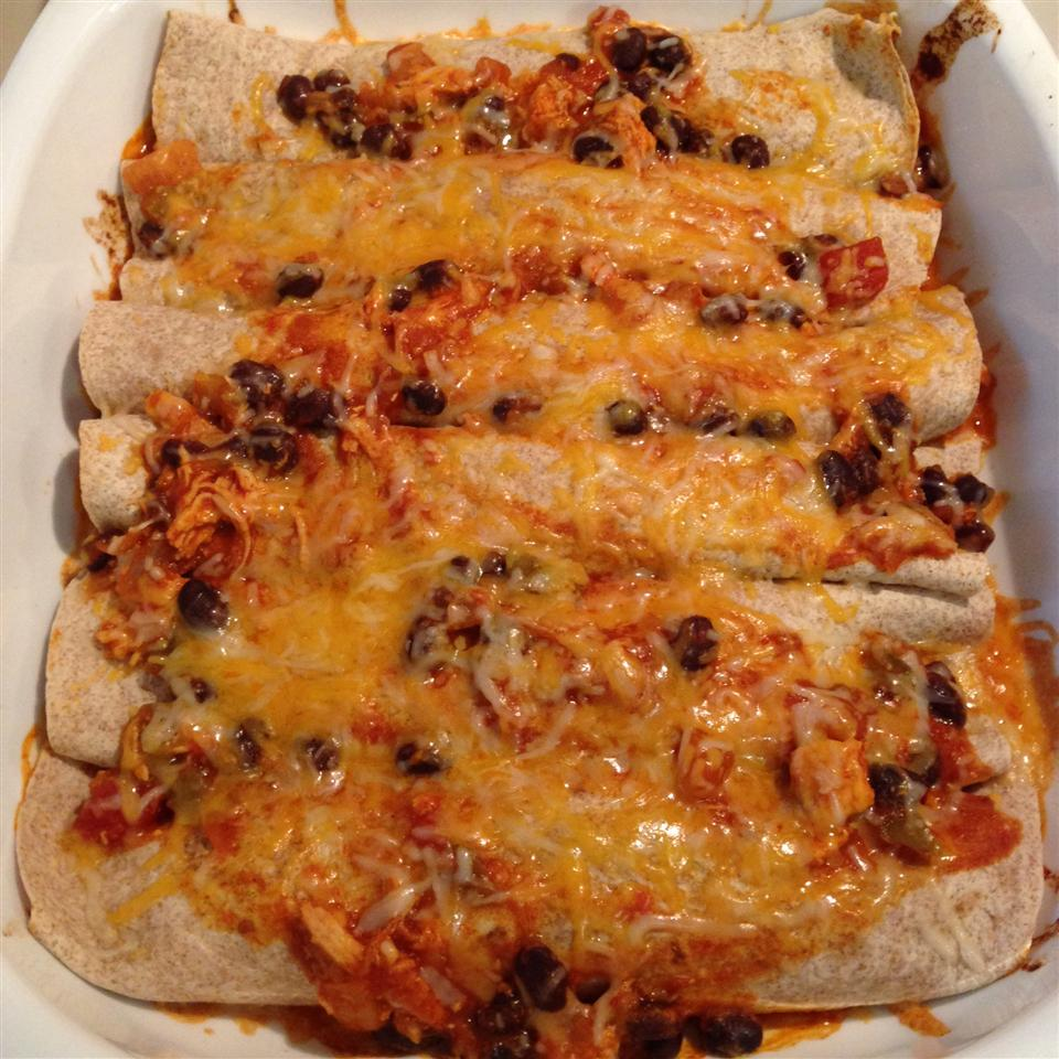 Chicken Chimi in the Oven