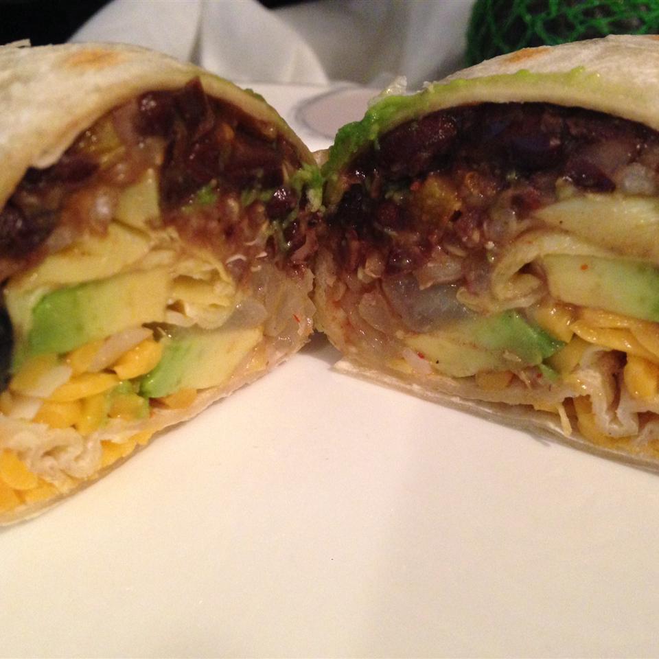 Black Bean and Artichoke Burritos Kcmoon15