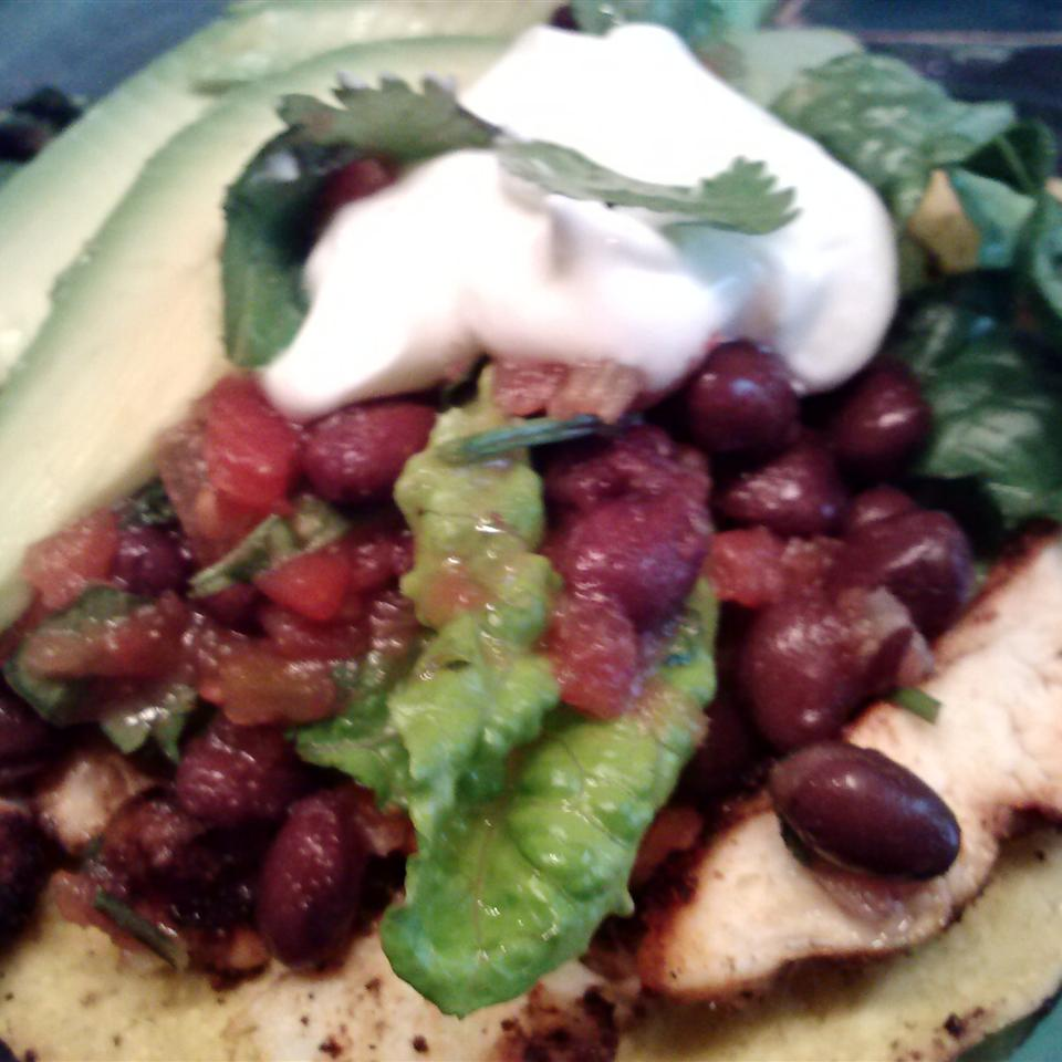 Grilled Chicken Taco Salad Sheila LaLonde