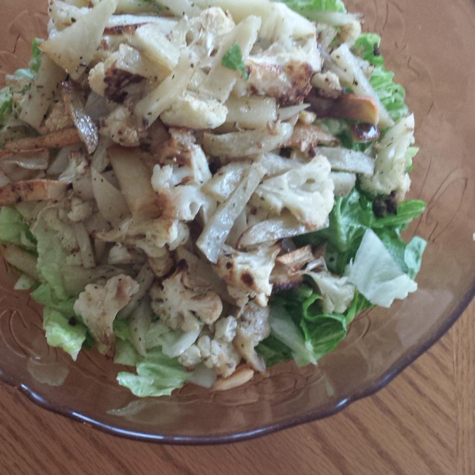Fried Cauliflower Salad Weaam Algassim