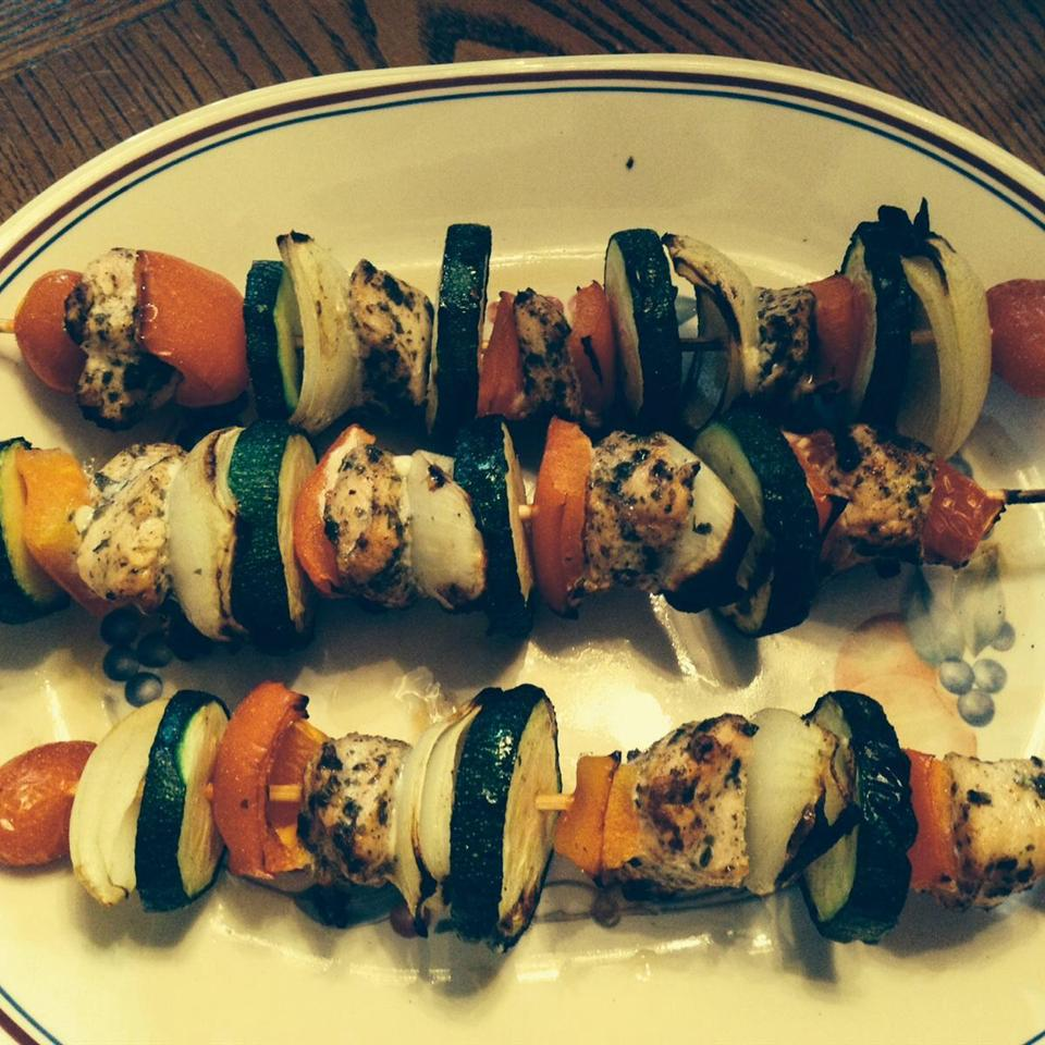 Chicken Kabobs Mexicana Kathy Kaether