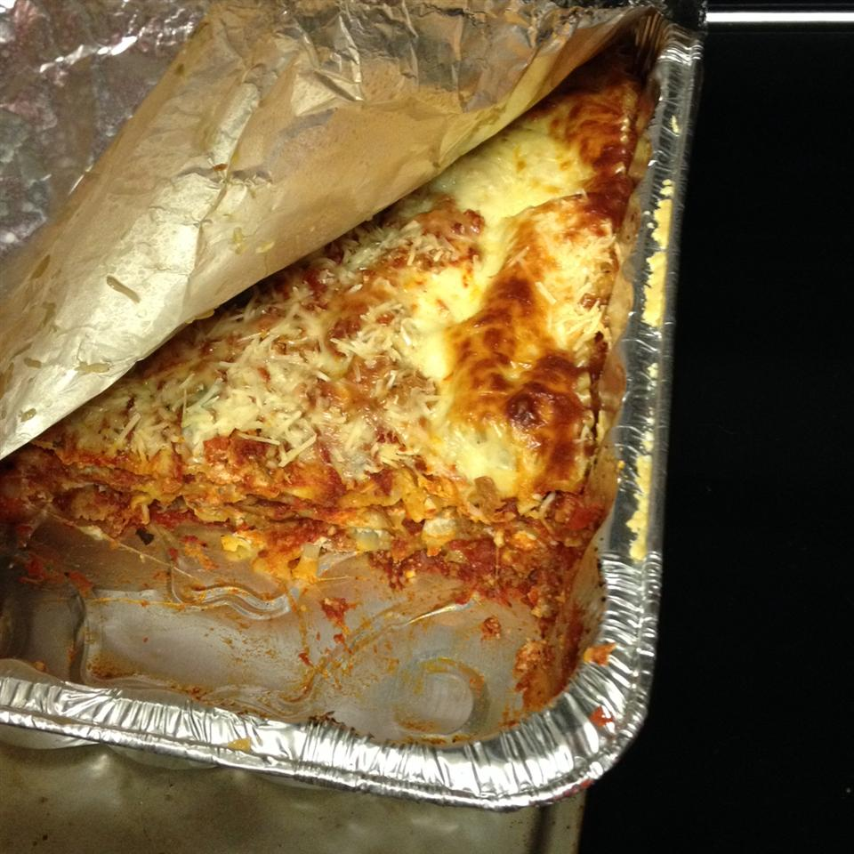 Healthier World's Best Lasagna