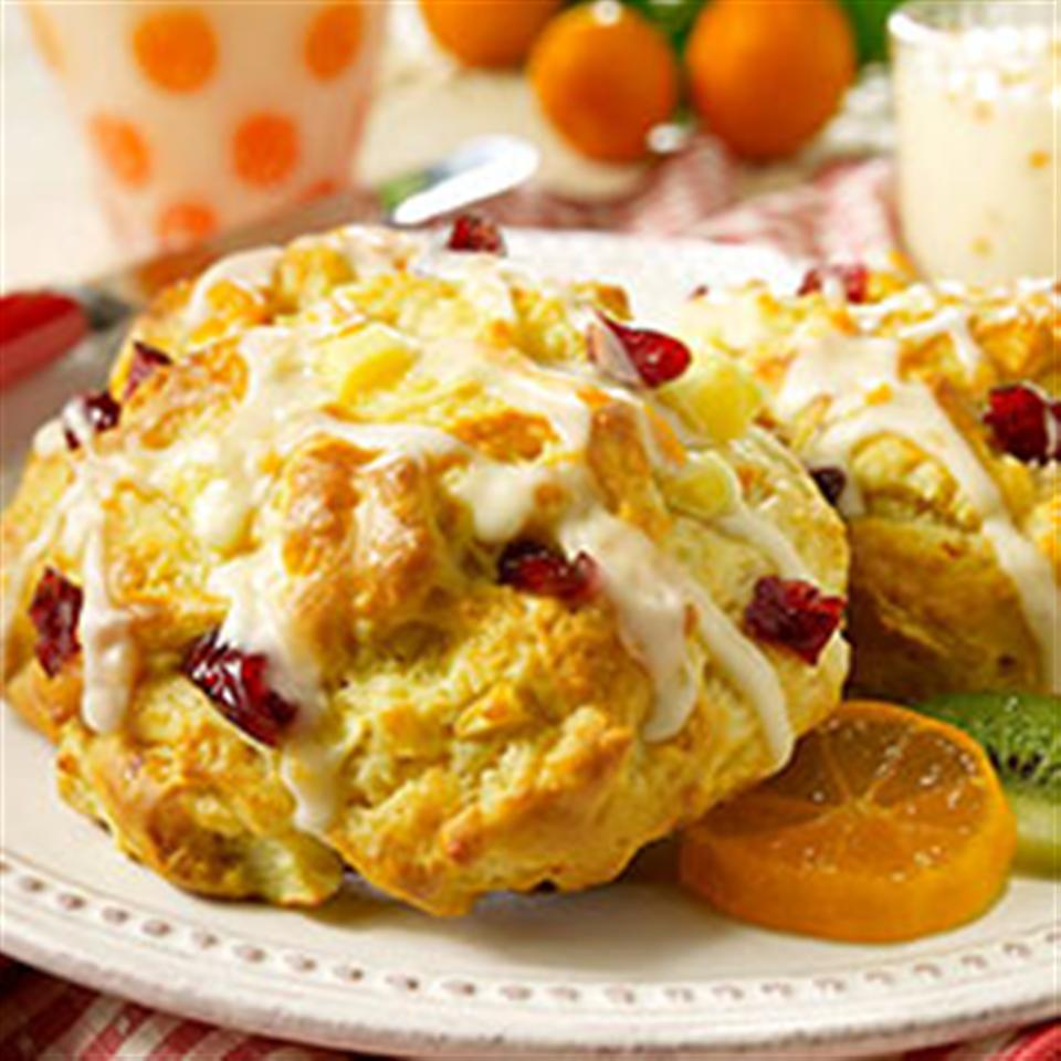 Pear Cranberry Scones Trusted Brands