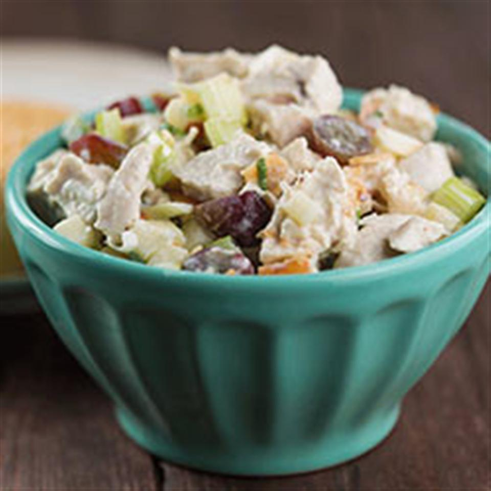 Toasted Coconut Chicken Salad