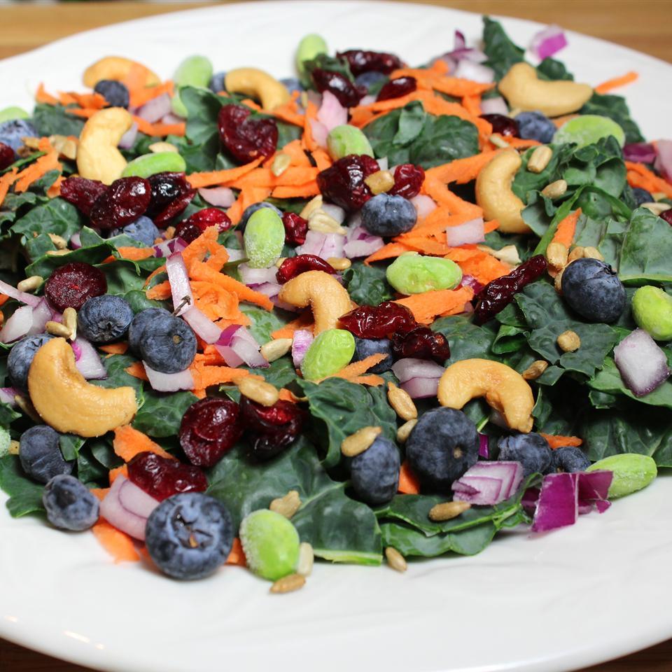 Super Summer Kale Salad Paula