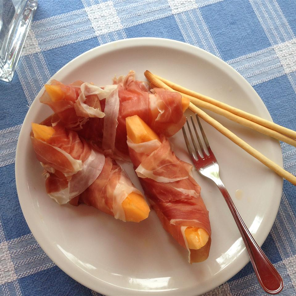 Prosciutto e Melone (Italian Ham and Melon) Buckwheat Queen