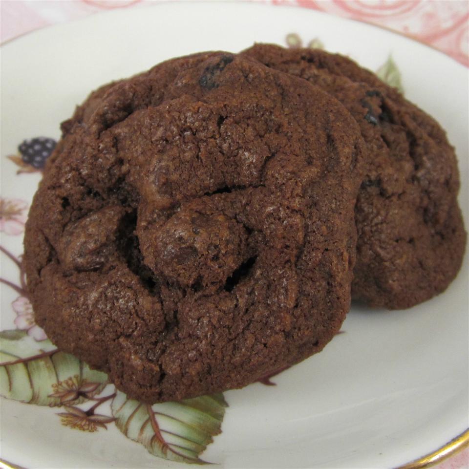 Oh-So-Chocolate Cherry Cookies