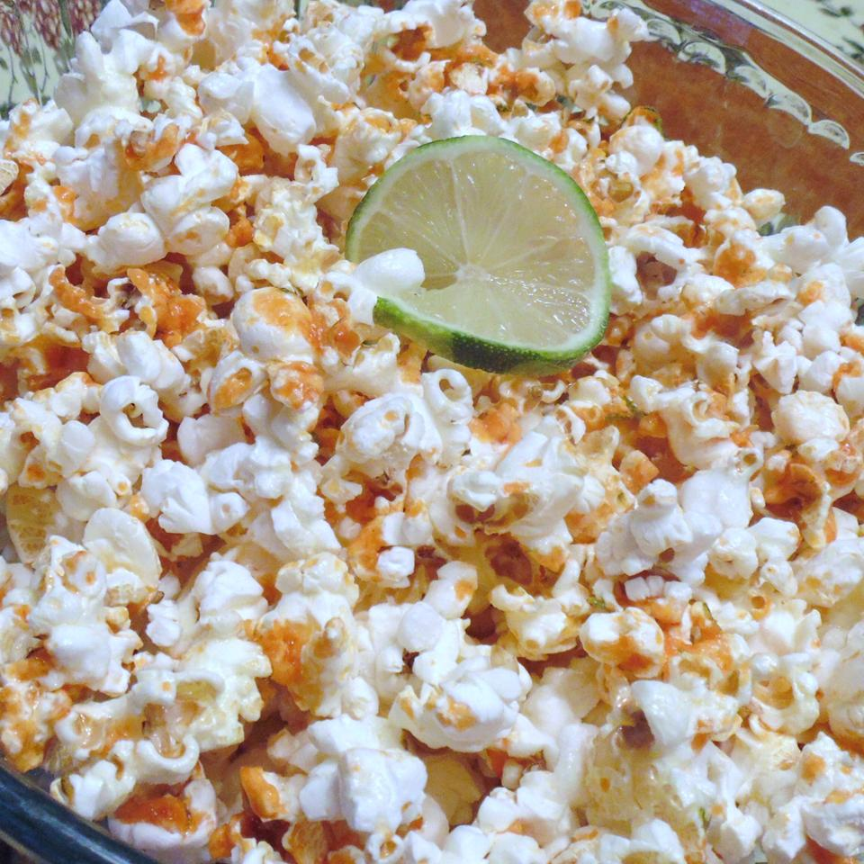 Sriracha-Lime Popcorn Christina