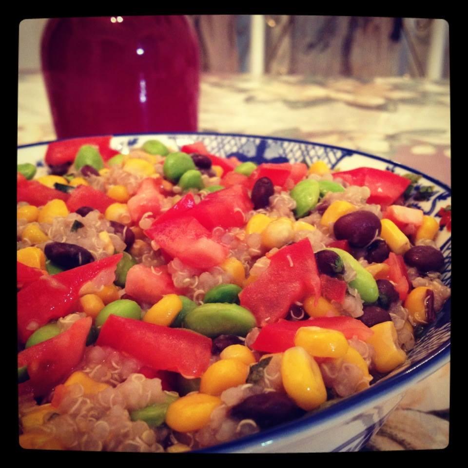 Zesty Quinoa Salad ItsAlice
