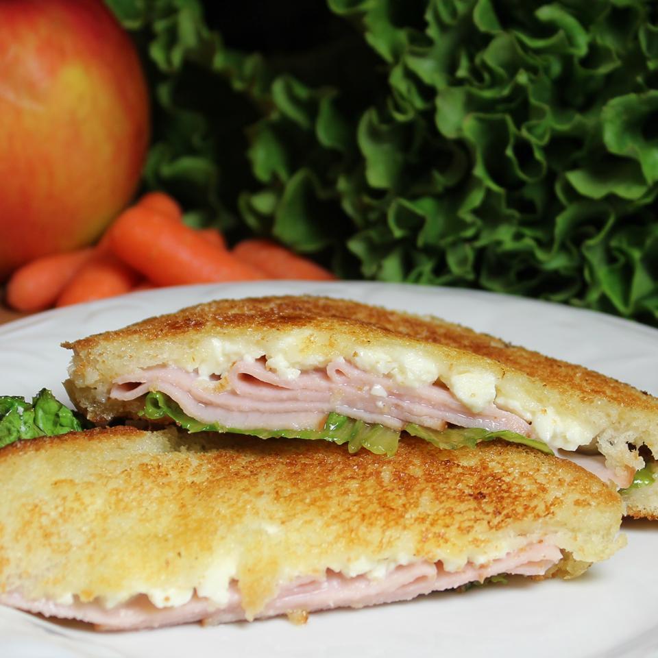 Turkey and Feta Grilled Sandwich