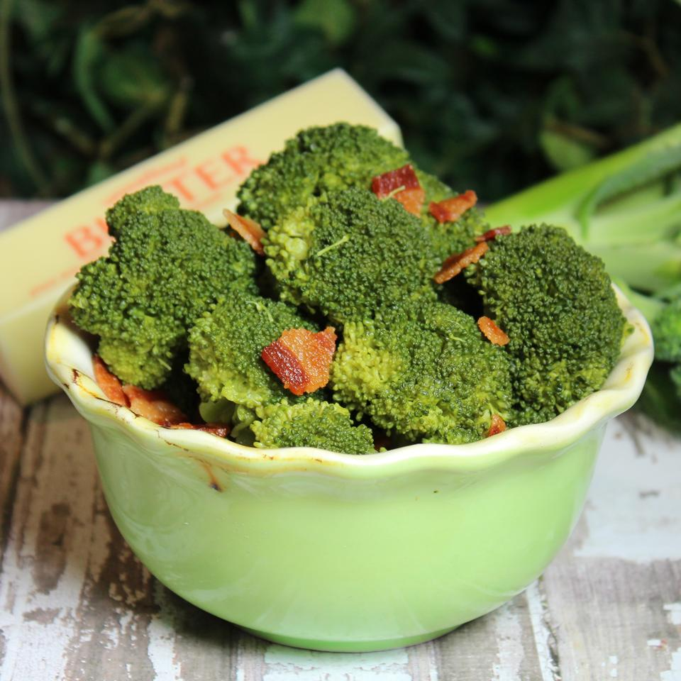 Steamed Broccoli Paula