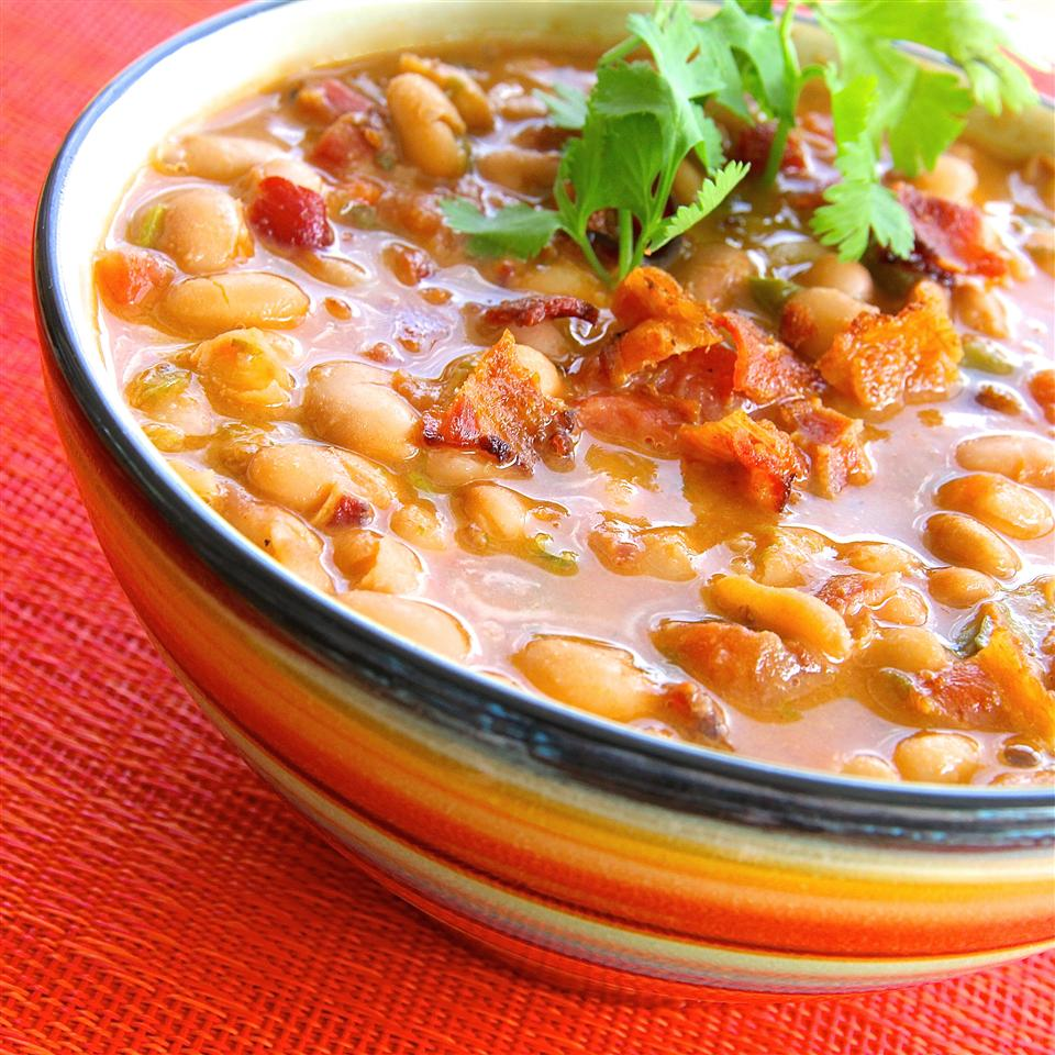 """""""These are my favorite Borracho-style beans,"""" says CAL. """"I've made them for tailgating and as part of a BBQ menu."""""""
