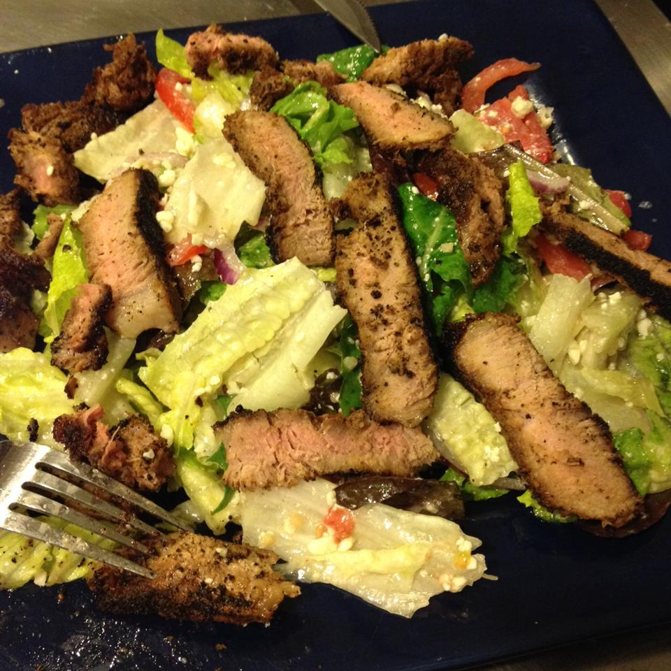 Steak Salad missmonique0829