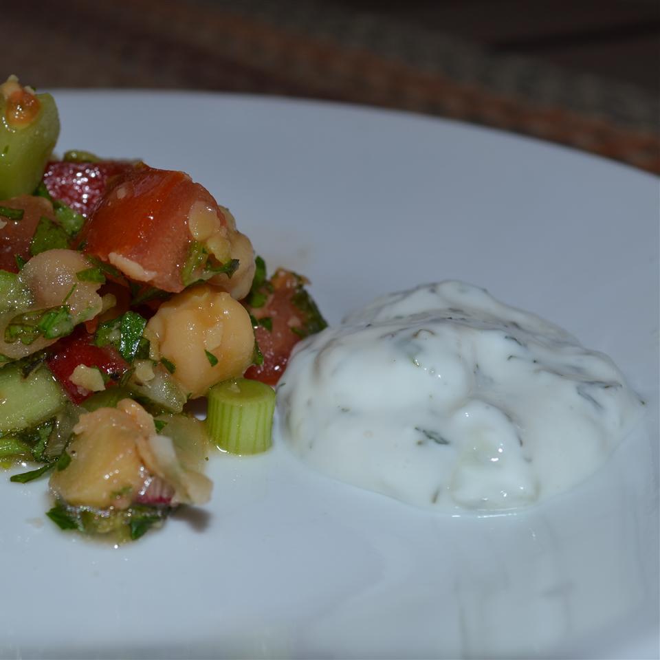 Tzatziki Sauce -Yogurt and Cucumber Dip merrmeli