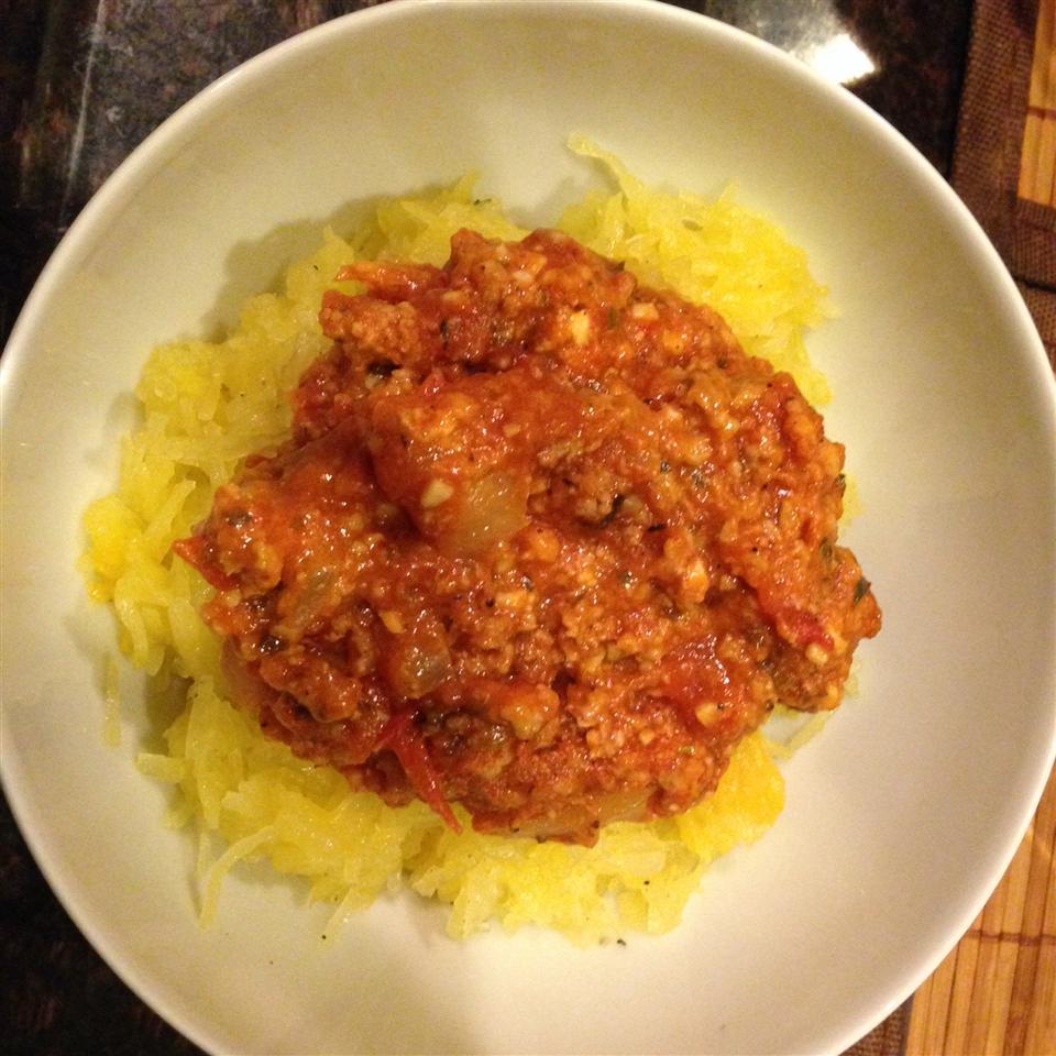 Spicy Spaghetti Squash nrmallari