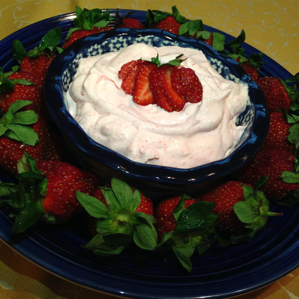 Creamy Strawberry Fruit Dip