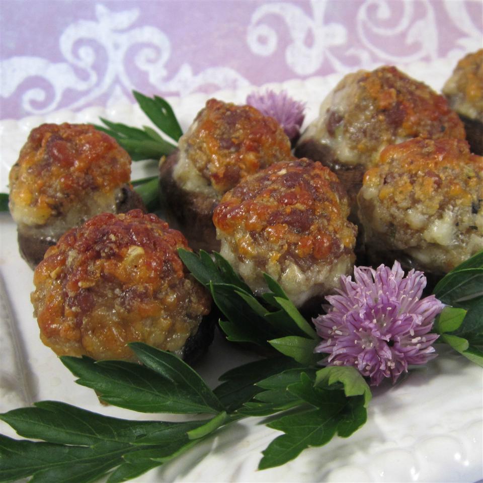 Sausage-Stuffed Mushrooms
