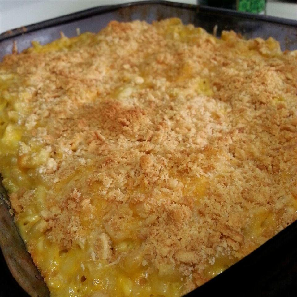 Mom's Baked Macaroni and Cheese Momma Kate