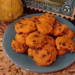 Pumpkin Chocolate Chip Cookies III