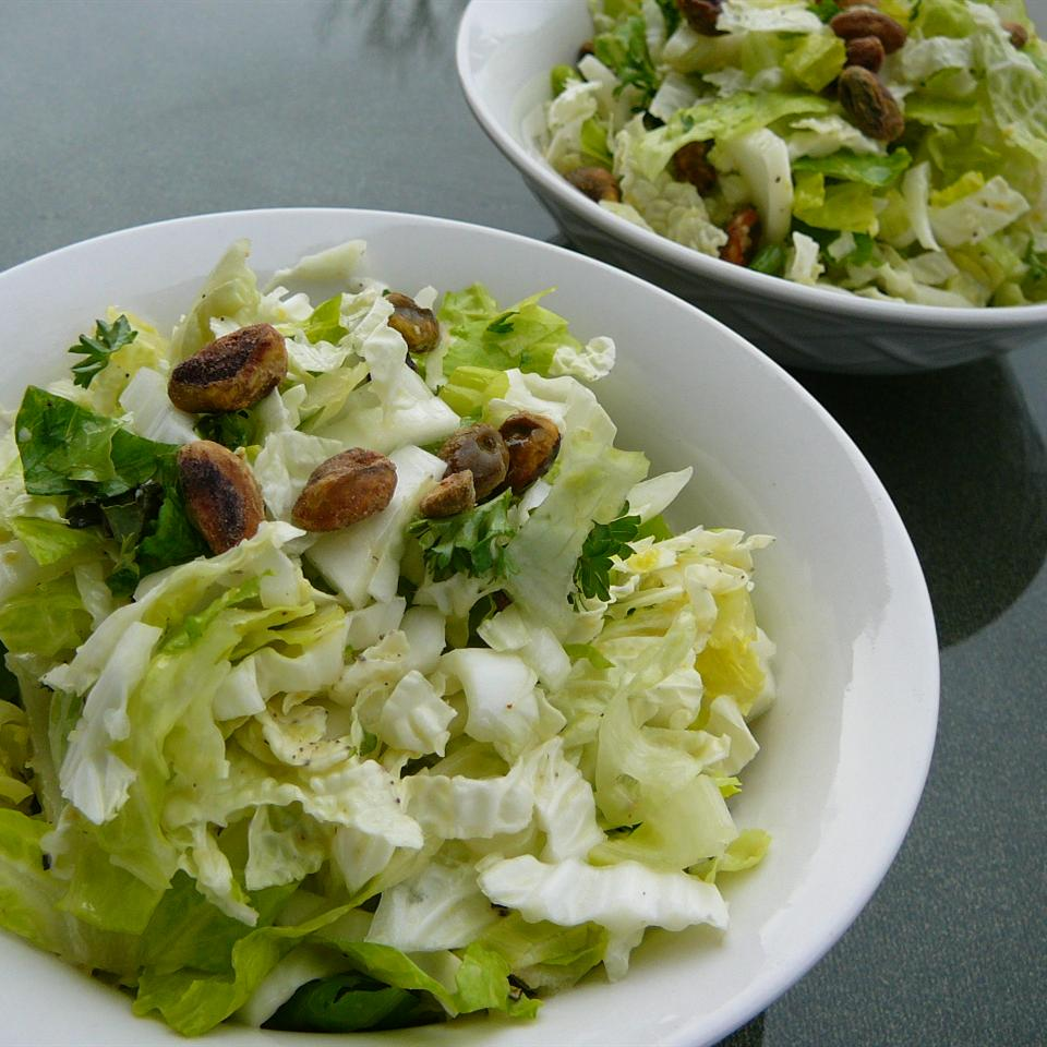 Napa Cabbage Salad with Lemon-Pistachio Vinaigrette