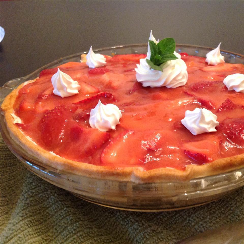 Rock Creek Lake Fresh Strawberry Pie