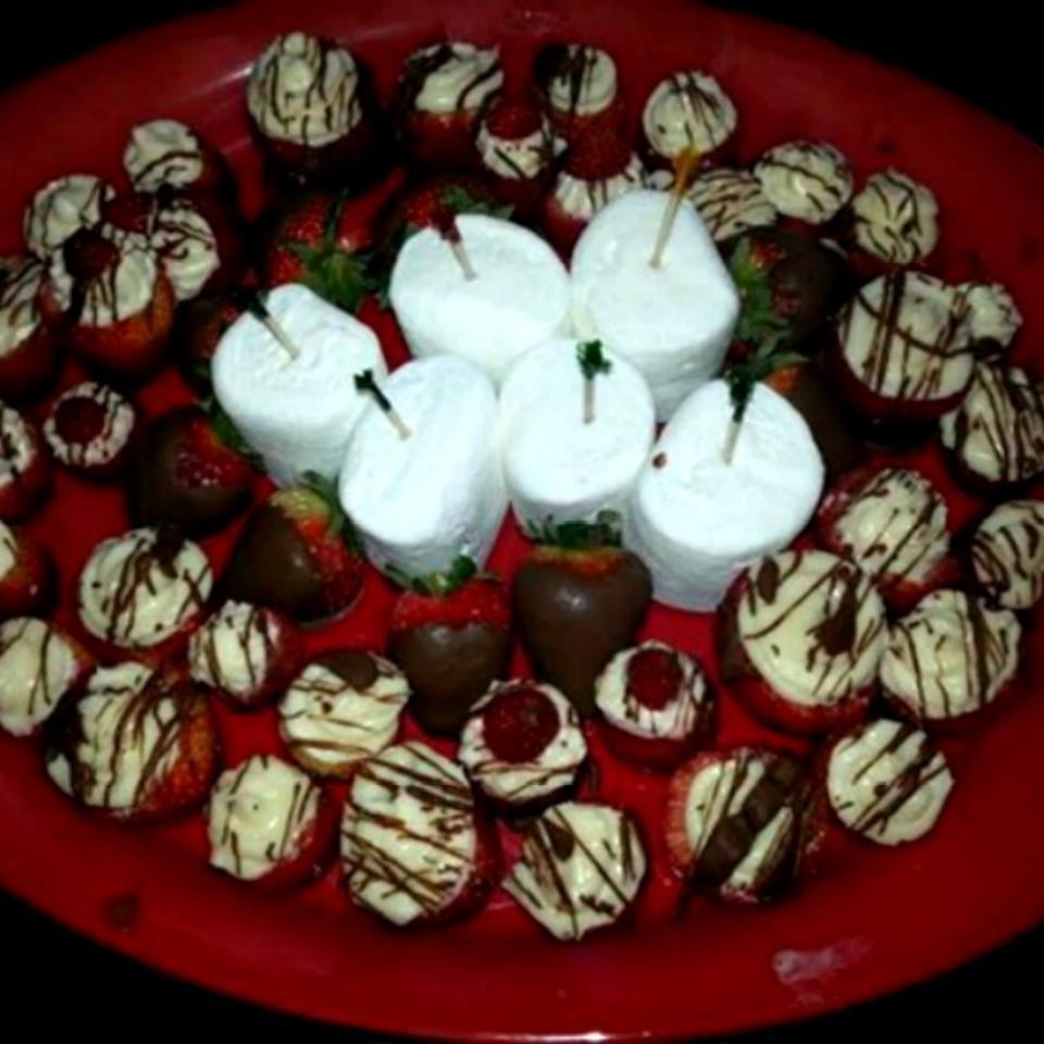 Cheesecake-Stuffed Strawberries Brandy Imlay