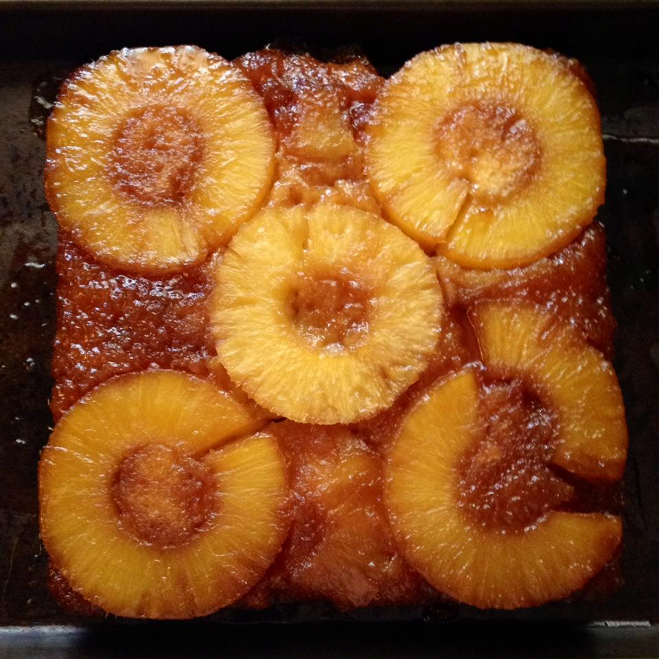 Fresh Pineapple Upside Down Cake Thomas Bagels