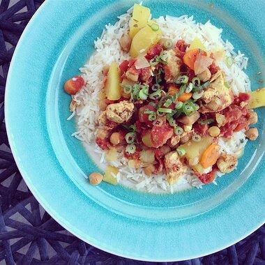 slow cooker chicken marrakesh recipe
