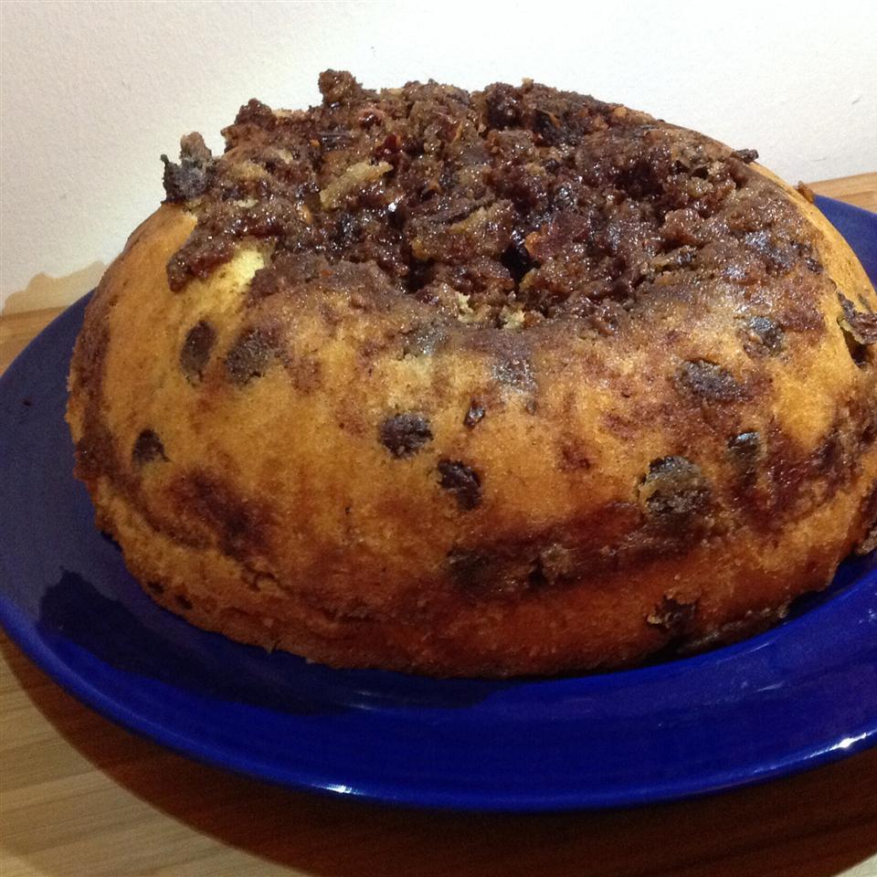 Chocolate Chip Sour Cream Coffee Cake BigShotsMom