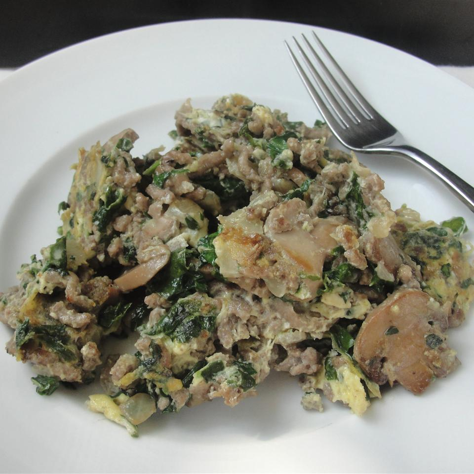 Joe's Special Beef and Spinach Scramble