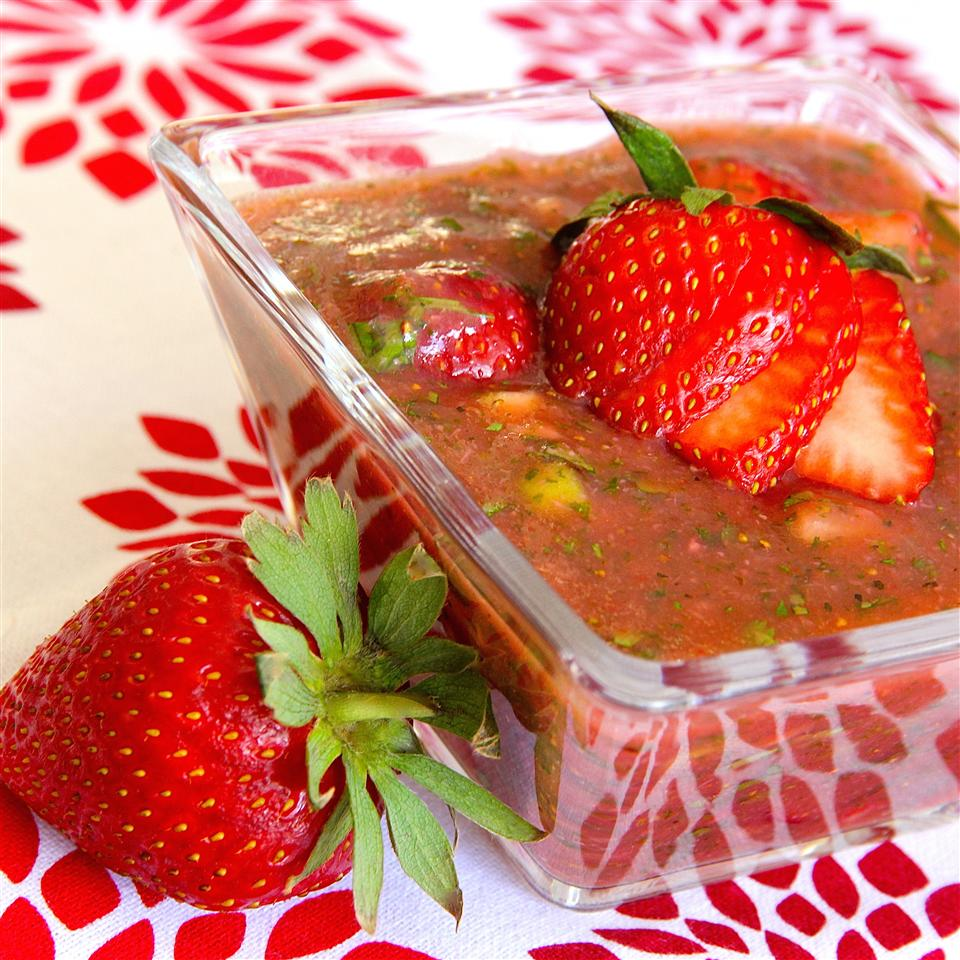 Berries are well-known for their fiber, antioxidants and anti-inflammatory effects, but are less well-known as an ingredient in soup. That's all about to change with this refreshing soup that expertly blends sweet and tart into a flavor explosion. Studies show that strawberries help improve pain and inflammation in people with arthritis when eaten daily. Luckily, this cold soup is at-the-ready and can be refrigerated for up to four days.