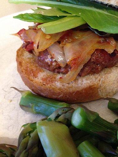 Blue Cheese Chipotle Venison Burgers Recipe Allrecipes