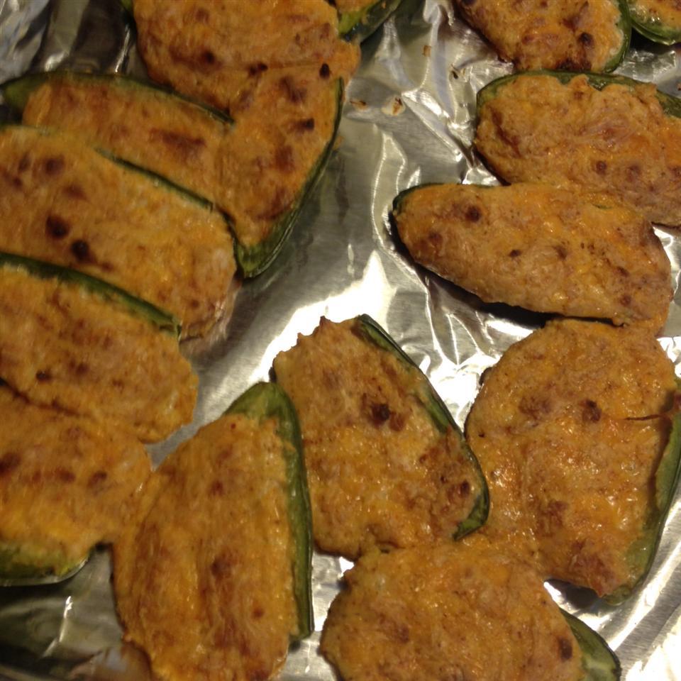 Four Cheese Stuffed Jalapenos Liz Pusch