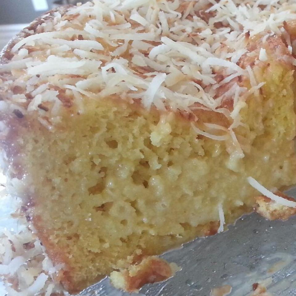 Brazilian-Style Moist Coconut Cake IamSabby